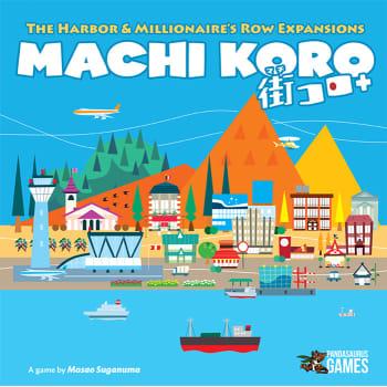 Machi Koro 5th Anniversary Expansions -  Pandasaurus