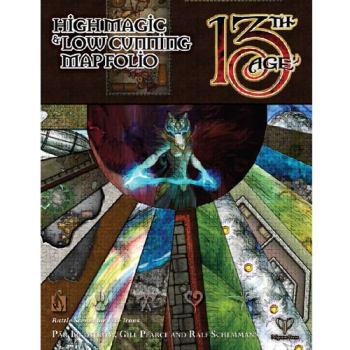 13th Age: High Magic & Low Cunning - Map Folio