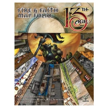 13th Age: Fire & Faith Map Folio