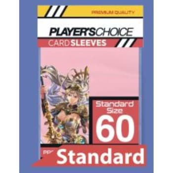 Player's Choice Sleeves - Power Pink - Standard Sized (60)
