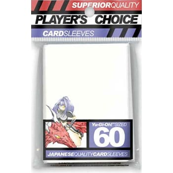 Player's Choice Sleeves - White - Yu-Gi-Oh! Sized (60)