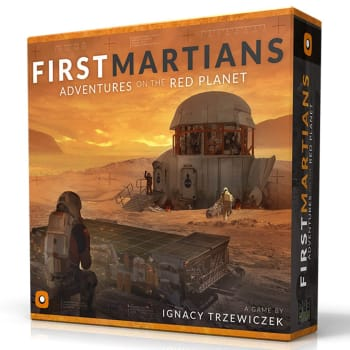 First Martians: Adventures on the Red Planet (Ding & Dent)