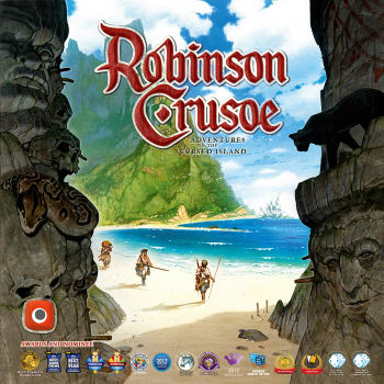 Robinson Crusoe: Adventures on the Cursed Island 2nd Edition (Ding & Dent)