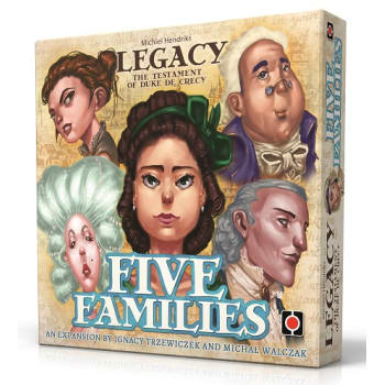Legacy: The Testament of Duke de Crecy - Five Families Expansion