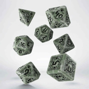 Poly 7 Dice Set: Pathfinder: Tyrant's Grasp