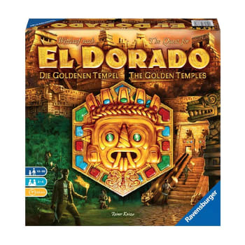 The Quest for El Dorado: The Golden Temples Expansion