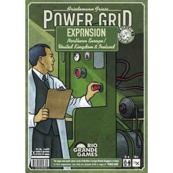 Power Grid Recharged : Northern Europe/United Kingdom & Ireland Expansion