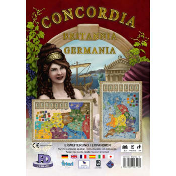 Concordia: Britannia & Germania Expansion
