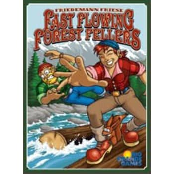 Fast Flowing Forest Fellers Board Game