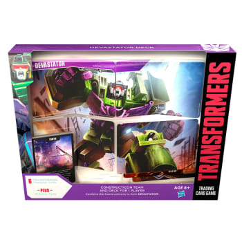 Transformers TCG: Rise of the Combiners - Devastator Deck
