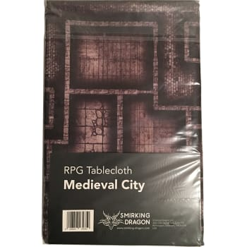 Medieval City RPG Tablecloth