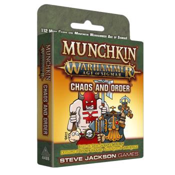 Munchkin Warhammer: Age of Sigmar - Chaos and Order