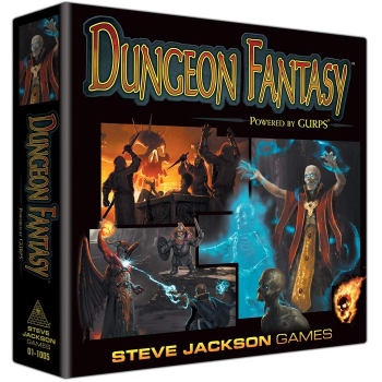 GURPS Dungeon Fantasy Roleplaying Game