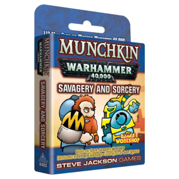 Munchkin: Warhammer 40,000 - Savagery & Sorcery
