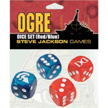 Ogre Dice Set: Red/Blue