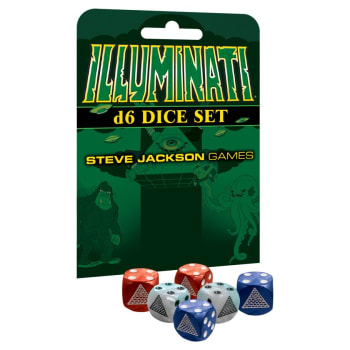 Illuminati Second Edition - Dice Set
