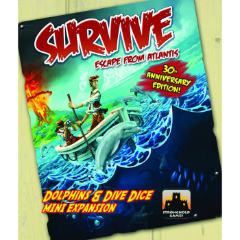 Survive: Dolphins and Dive Dice Mini-Expansion (30th Anniversary Edition)