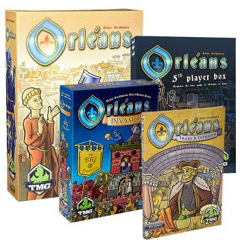 Orleans Bundle (+5th +Trade & Intrigue +Invasion)