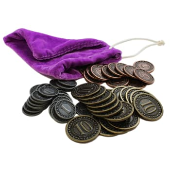 Orleans: Coins and Bag Set