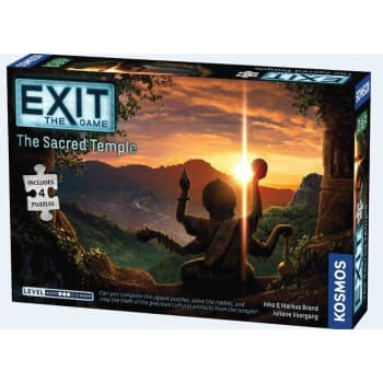Exit: The Sacred Temple (with Puzzle)