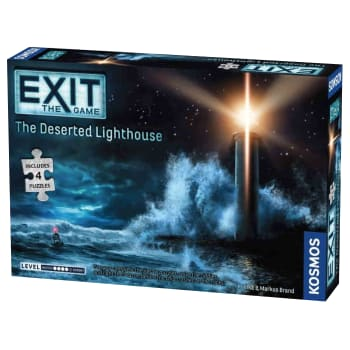 Exit: The Deserted Lighthouse (with Puzzle)