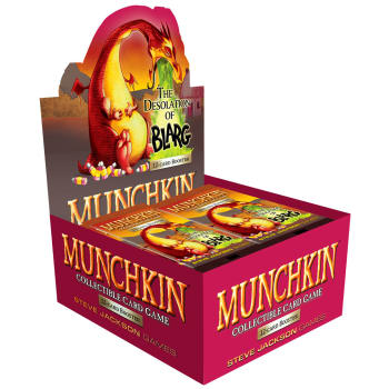 Munchkin CCG: The Desolation of Blarg Booster Box