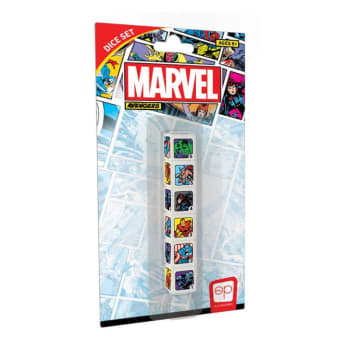 D6 Dice Set: Marvel Avengers