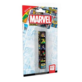 D6 Dice Set: Marvel Villains