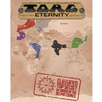 Torg Eternity: Poster Map