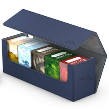 Ultimate Guard - Deck Box - Arkhive XenoSkin Standard 400+ Blue