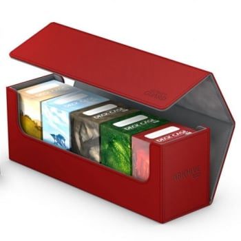 Ultimate Guard - Deck Box - Arkhive XenoSkin Standard 400+ Red