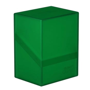 Ultimate Guard - Deck Case Standard 60+ Boulder - Emerald
