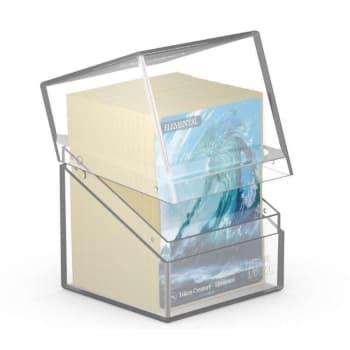 Ultimate Guard - Deck Case Standard 100+ Boulder - Clear