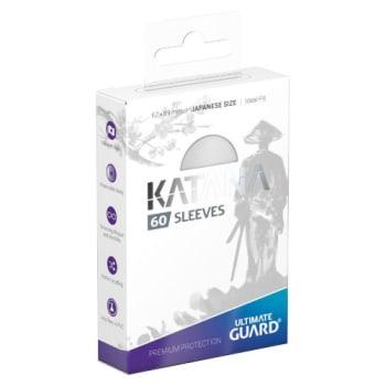 Ultimate Guard Sleeves - Katana - 60 count - White (Japanese Size)
