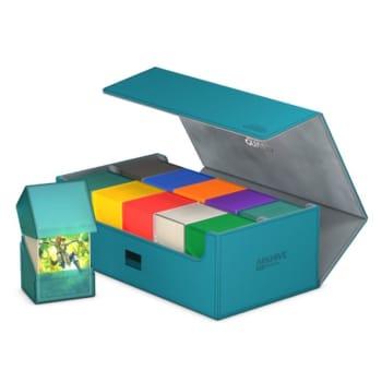 Ultimate Guard - Deck Box - Arkhive XenoSkin Standard 800+ Petrol