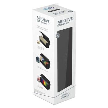 Arkhive Standard Size 400+ Monocolor Deck Box: Black