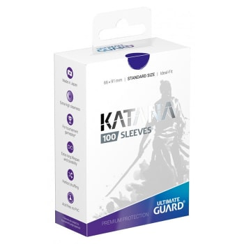 Ultimate Guard Sleeves - 100 count - Standard Sized - Katana - Blue