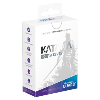 Ultimate Guard Sleeves - 100 count - Standard Sized - Katana - White