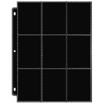 18 Pocket Side-Load Black Page - 2 Sheets