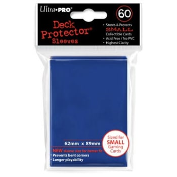Ultra Pro Sleeves - 60 count - Blue - Small