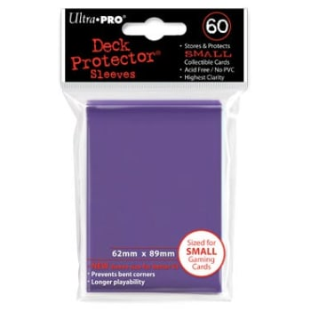 Ultra Pro Sleeves - 60 count - Small Size - Purple