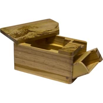 Hako Wooden Deck Box - The Great Wave Off Kanagawa