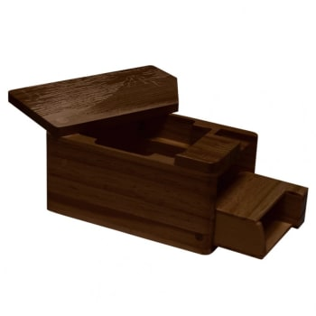 Hako Wooden Deck Box - Red Fuji