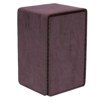 UltraPro Suede Collection - Alcove Tower Deck Box - Amethyst