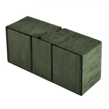 UltraPro Suede Collection - Alcove Vault Deck Box - Emerald