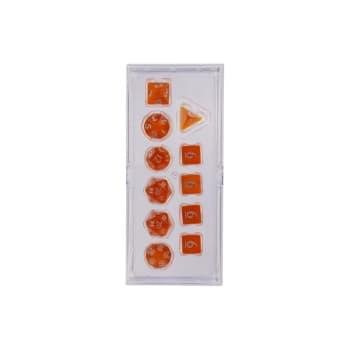 Eclipse: Poly 11 Dice Set - Pumpkin Orange