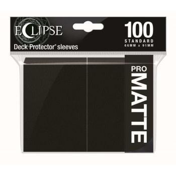 Ultra Pro Sleeves - 100 count - Standard Sized - Matte Eclipse Jet Black