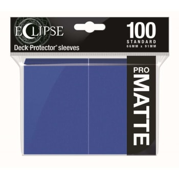 Ultra Pro Sleeves - 100 count - Standard Sized - Matte Eclipse Pacific Blue