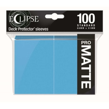 Ultra Pro Sleeves - 100 count - Standard Sized - Matte Eclipse Sky Blue