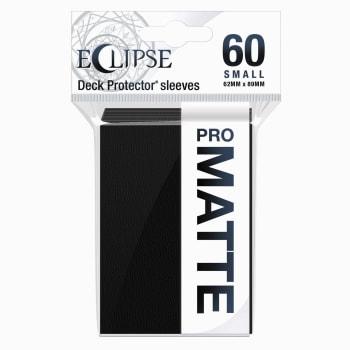 Ultra Pro Sleeves - Matte Eclipse Small - Jet Black (60)